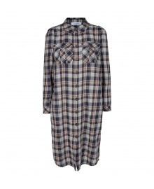 Co'couture Uni Check Shirt Dress 96304