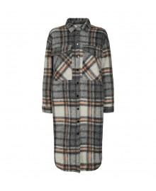 Co'couture Kelly Long Wool Jacket - Jakke 90084