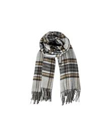 Black Colour GERDA Ternet Tørklæde 208103