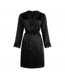 Lady Avenue Pure Silk - Short Kimono 29-80606