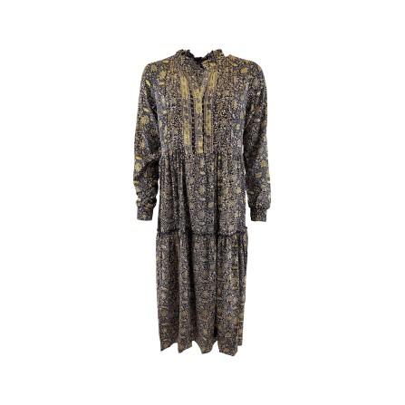 Black Colour LUNA ROSE Boho Dress 3808BH