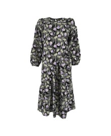 Black Colour HALLY Asymetric Dress - Kjole 40001