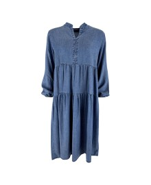 Black Colour FRIGG Denim Dress 40010