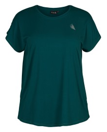 Zizzi Abasic One s/s T-shirt A00053A Deep Teal