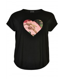 Gozzip Gitte T-shirt med print G212091