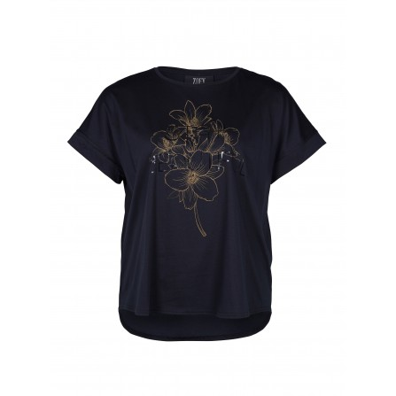 Zoey JOLENE T-shirt 203-5553 Black
