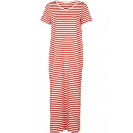 Basic Apparel Rita Tee Long Dress - Kjole BA10078