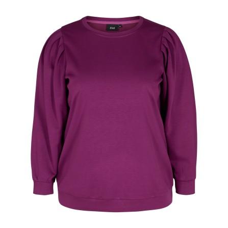 Zizzi VLUA L/S Blouse - Sweatshirt V59170A