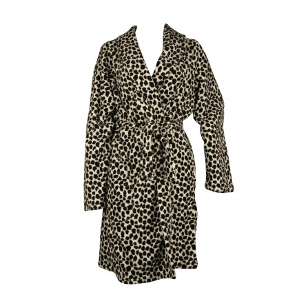 Missya Rebal fleece robe kort 13283