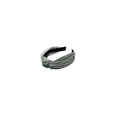 Black Colour Kelly headband grey 9933GR