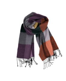 Black Colour RITA scarf multi 188132MU