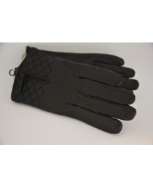 Decoy Ladies Leather Gloves w. quilt 50236