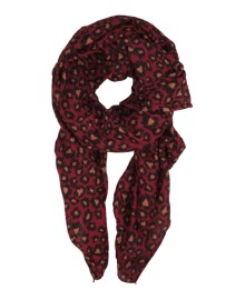 Black Colour SAFARI scarf wine 178157