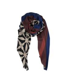 Black Colour MANSION scarf black 188125BL