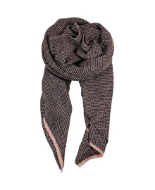 Black Colour FANNY scarf blackrose 188143BL