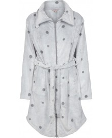 Decoy Robe w. Dots and zipper 88205