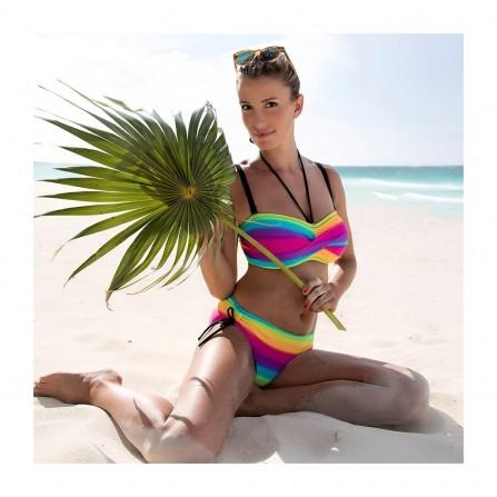 WIKI Bandeau bikini top 552-2491