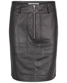 Co'couture Georgia Leather Skirt 74175