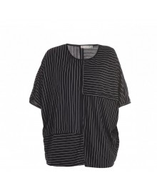 Black w. white stripe