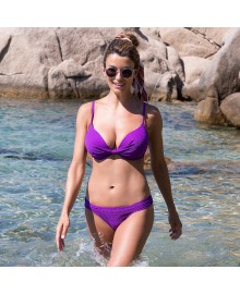 WIKI Push-up Bikini Top Violet 660-3460