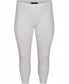 Zizzi Leggings 3/4 Z94881D Bright White