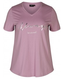 Zizzi MFierce S/S V-Neck T-shirt V50004B