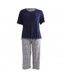 Lady Avenue Bamboo Short-sleeve Pyjamas 66-107