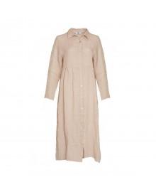 Tiffany Dress, Linen 181168 Rose