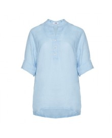 Tiffany Shirt, Linen 17661 Light Blue