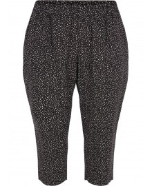 Zizzi VViga 3/4 Pants V00020G Black Dot