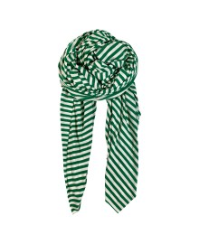Black Colour Austin scarf green/white 198037GE