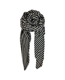 Black Colour Austin scarf black/grey 198037BL