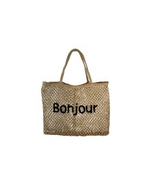 Black Colour VENICE beach bag BONJOUR 9180BO