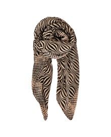 Black Colour FLOW scarf frappe 198104FR