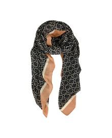 Black Colour KAY scarf black 198105BL