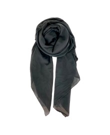 Black Colour EMMA plain scarf black 198136BL