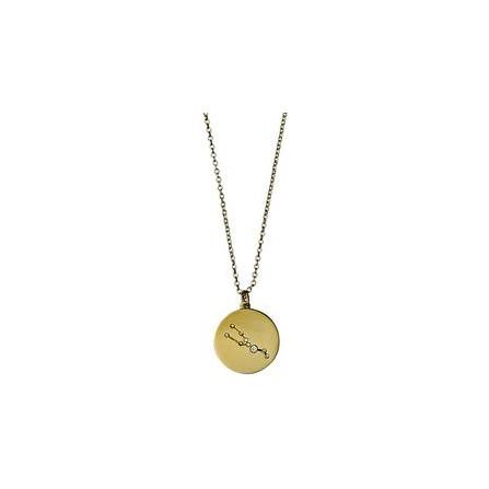 Pilgrim Halskæde: Tyr Stjernetegn - Guldbelagt 521612041