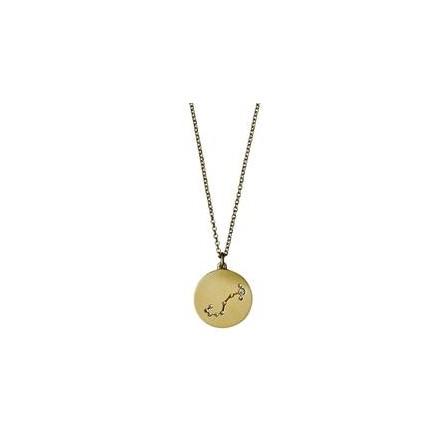 Pilgrim Halskæde: Skorpion Stjernetegn - Guldbelagt 521612101