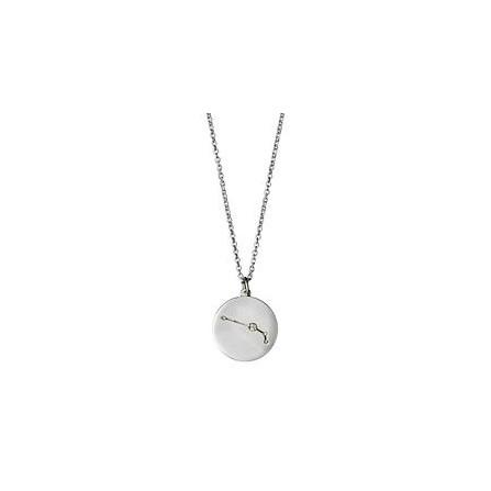 Pilgrim Halskæde: Vædder Stjernetegn - Sølvbelagt 521616031