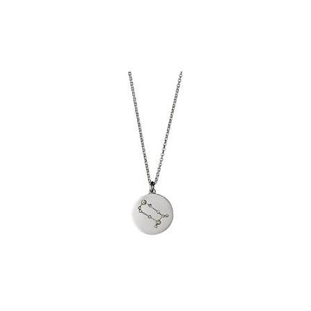 Pilgrim Halskæde: Tvilling Stjernetegn - Sølvbelagt 521616051
