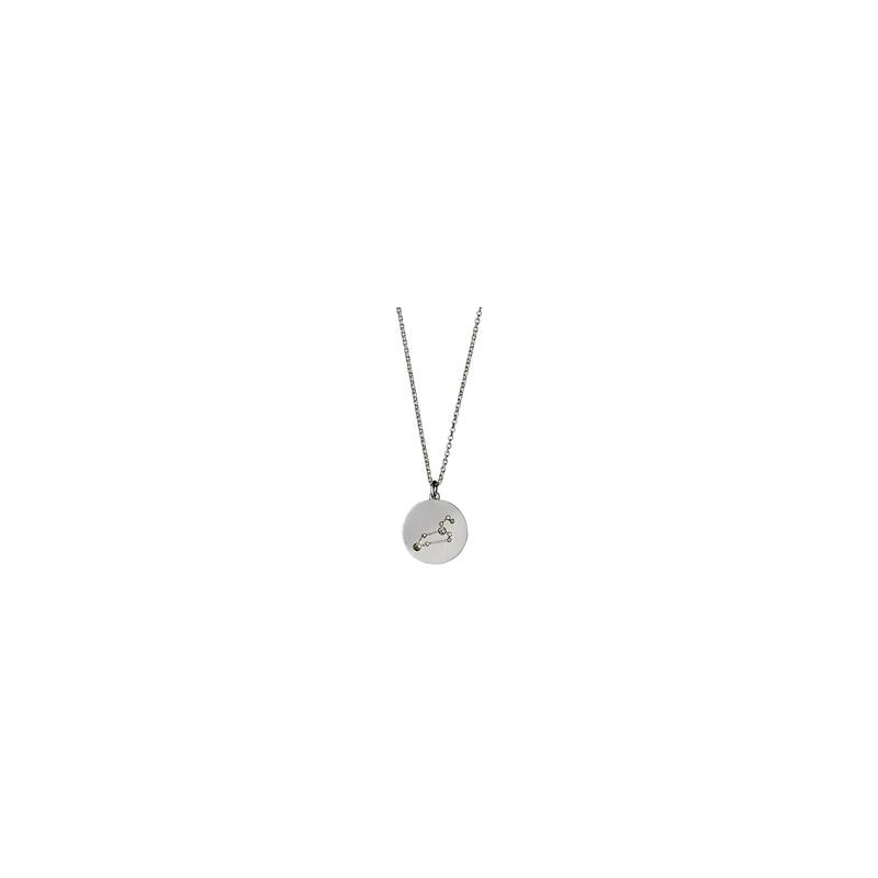 f37241ffbe3 Pilgrim Halskæde: Løve Stjernetegn - Sølvbelagt 521616071 fra Pilgrim