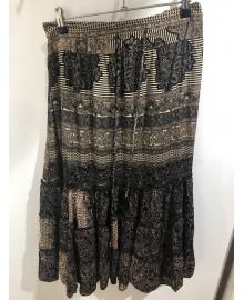 Black Colour LUNA Skirt Black Epic 9879BE