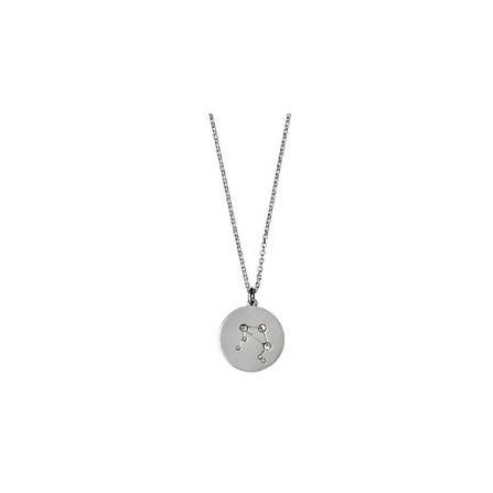 Pilgrim Halskæde: Vægt Stjernetegn - Sølvbelagt 521616091