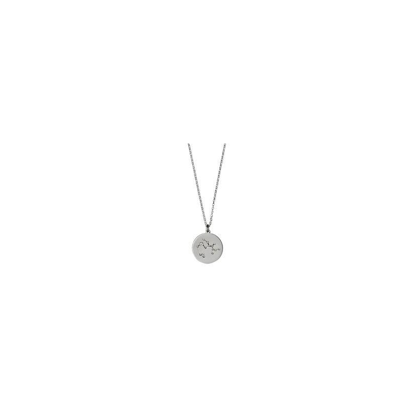 e4fdf803b6c Pilgrim Halskæde: Skytte Stjernetegn - Sølvbelagt 521616111 fra Pilgrim