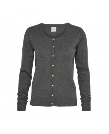 Culture Annemarie Cardigan 50101586  Dark Grey Melange