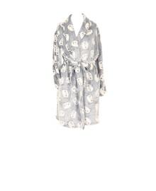 Missya Panda fleece robe short 14493