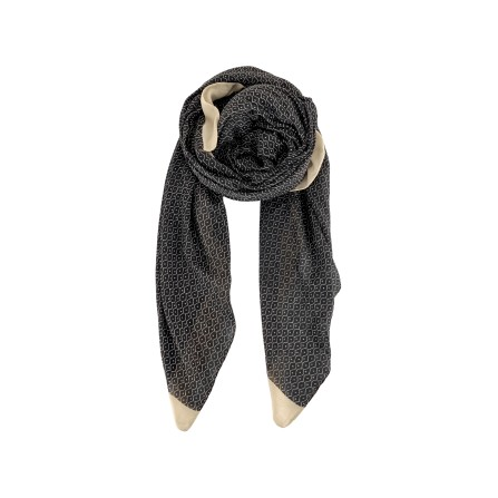 Black Colour CHLOE Scarf Black 198109BL