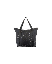 Black Colour ALLY shopper black/gold 9148BG