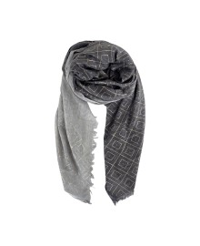 Black Colour ECLIPSE scarf grey/silver 198155GR