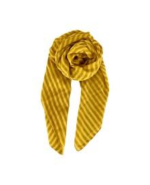 Black Colour SPEAR stripe scarf mustard 198137MU